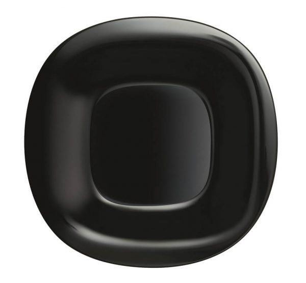 LUMINARC Carine duboki crni tanjir
